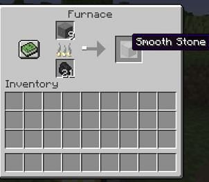 Smooth stone slabs can be obtained via mining any block of stone with a pickaxe enchanted with Silk Touch