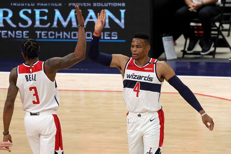 Bradley Beal and Russell Westbrook