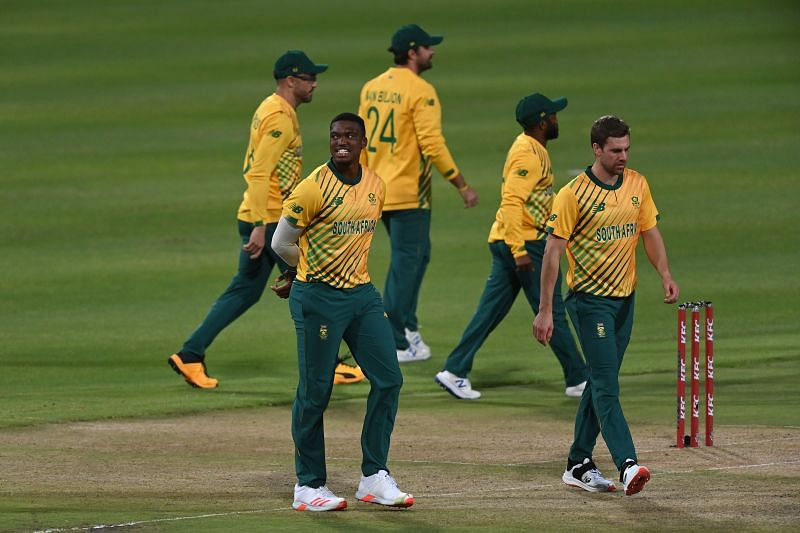 South Africa during the T20I series against England