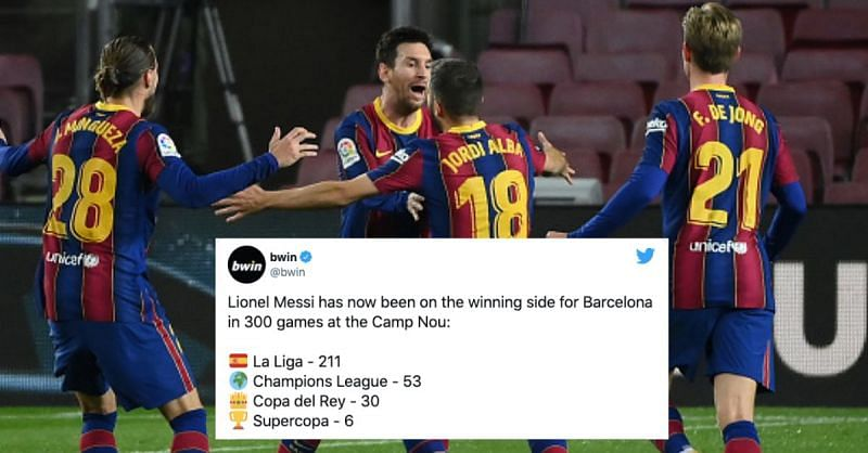 Barcelona secured a crucial 2-1 win over Real Sociedad