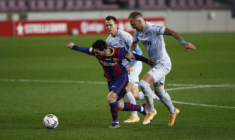 Barcelona dropped points against Valencia at the Camp Nou