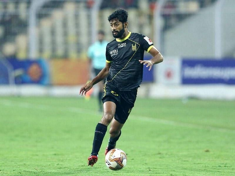 Nikhil Poojary has impressed with his performances for the Nizams (Courtesy - ISL)