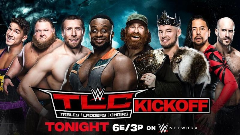 WWE just announced their match for the TLC Kickoff show and it