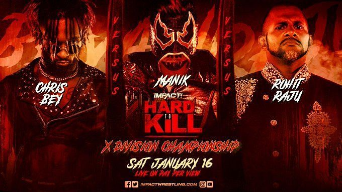 Manik has a difficult title defense set for IMPACT Wrestling Hard To Kill