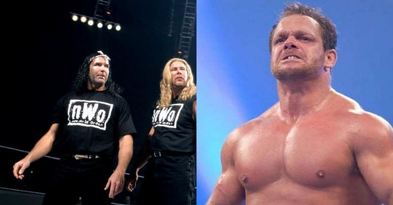 Chris Benoit was not pleased with Scott Hall (Source: WWE)