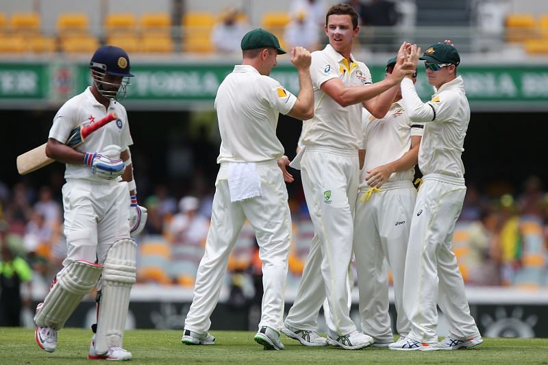 Josh Hazlewood is the second-most successful Australian bowler against Ajinkya Rahane.