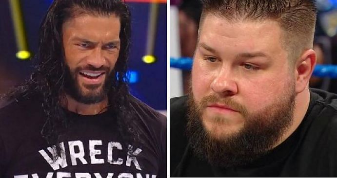 Roman Reigns and Kevin Owens