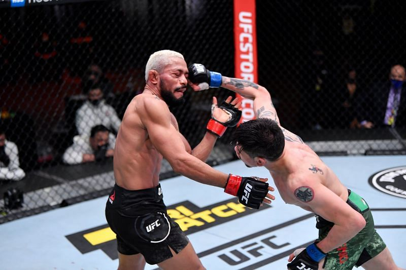 Deiveson Figueiredo and Brandon Moreno put on a fight for the ages in UFC 256 majority draw