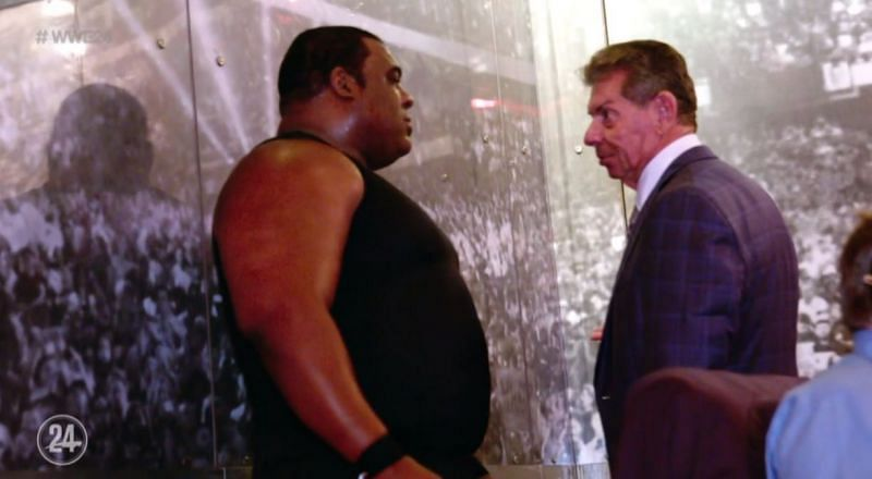 Keith Lee and Vince McMahon