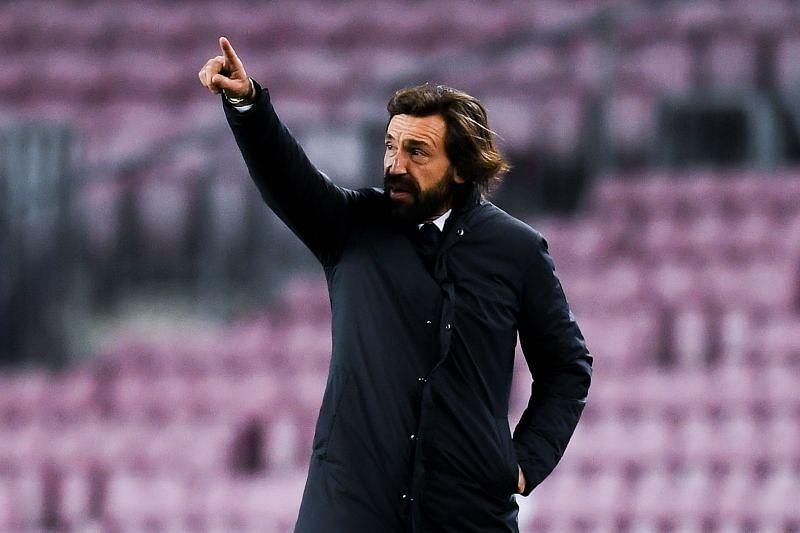 Head coach Andrea Pirlo of Juventus