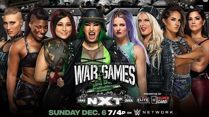 The second WarGames will feature eight of the best ladies in the entire WWE.