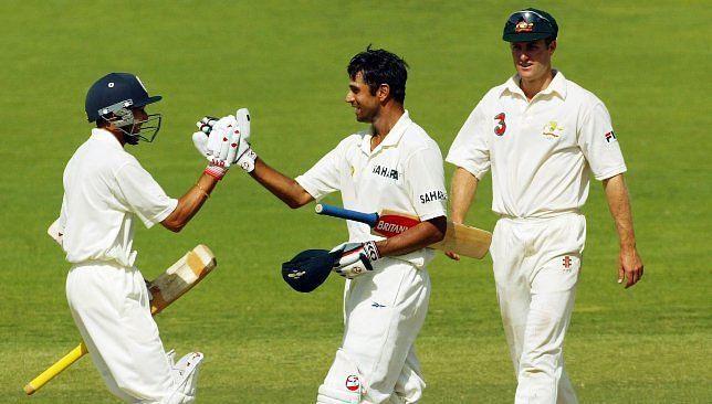 ऑस्ट्रेलिया के खिलाफ टेस्ट जीतने के बाद जश्न मनाते हुए भारतीय खिलाड़ी