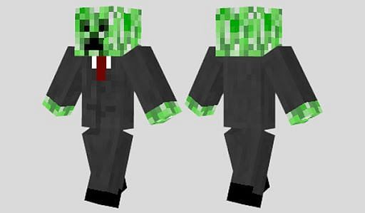 Minecraft Creeper skin is widely used to play the minecraft
