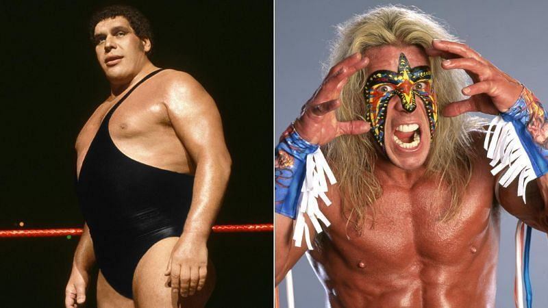 Andre the Giant and The Ultimate Warrior