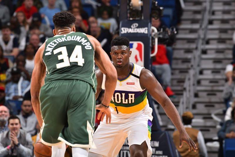 Milwaukee Bucks vs New Orleans Pelicans