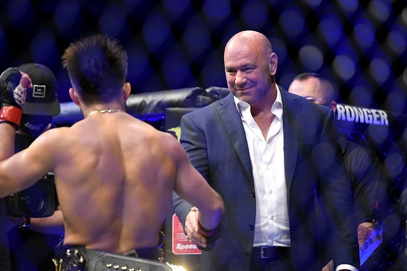 Dana White shares his pick(s) for 2020 fighter of the year