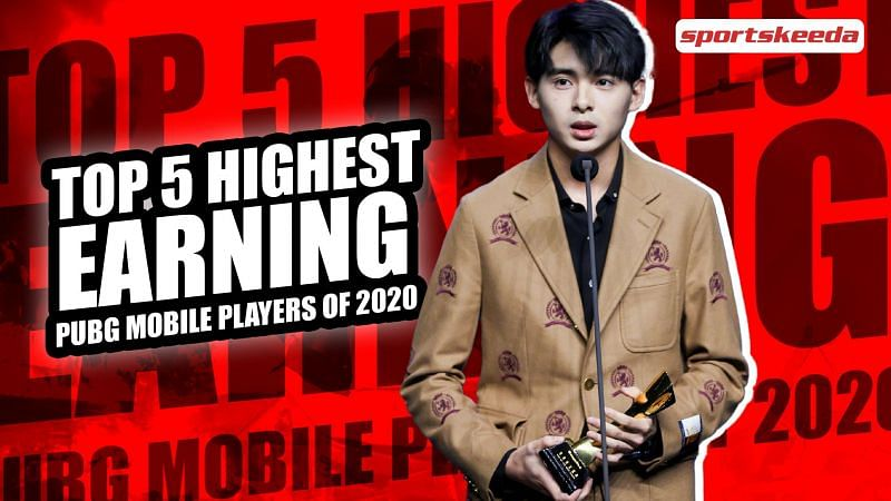 Players to have earned the most from PUBG Mobile tournaments this year