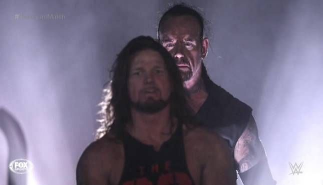 The Undertaker vs. AJ Styles in the Boneyard Match stole the show at WrestleMania 36.