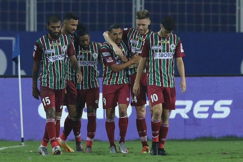 ATK Mohun Bagan handed Bengaluru FC their first loss of the season (Image Courtesy: ISL Media)