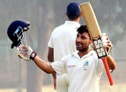 Shreevats Goswami has scored 2,534 runs at an average of 30.53 in 55 first-class matches