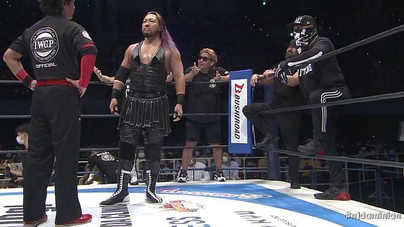 EVIL in NJPW