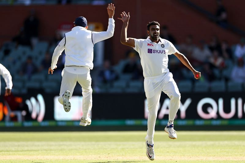 R Ashwin scalped four wickets in Australia