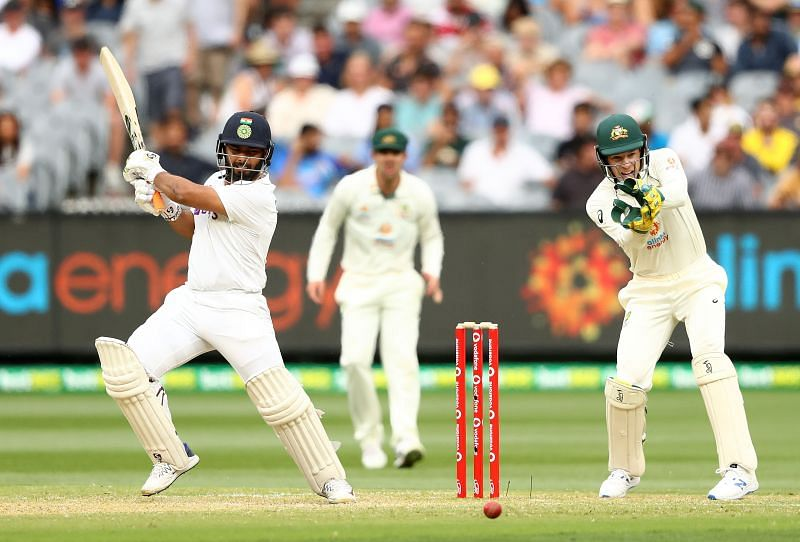 Rishabh Pant struck a quickfire 29 runs on Day 2 of the Boxing Day Test