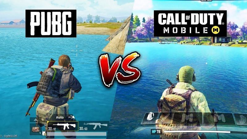 Both COD Mobile and PUBG Mobile Lite offer 60 FPS support on 4 GB RAM and above devices (Image via ImageShack)