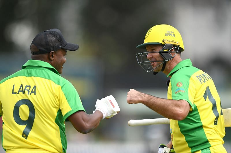 Ricky Ponting and Brian Lara were in the commentary box together on Thursday
