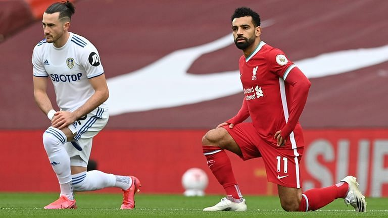 Mo Salah(R) has been in phenomenal FPL form this season.