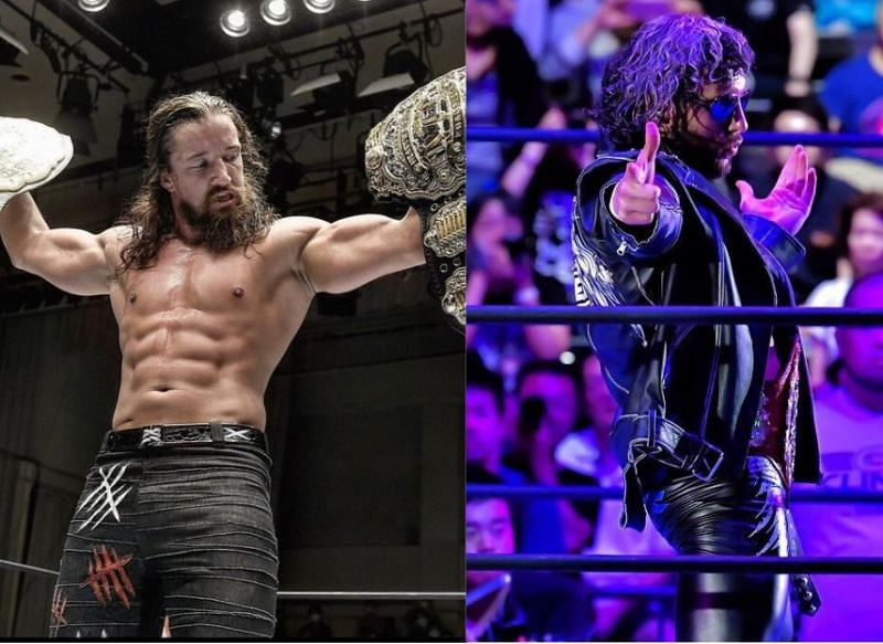 Jay White has a message for Kenny Omega