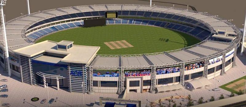 अफगानिस्तान क्रिकेट स्टेडियम का डिजाइन