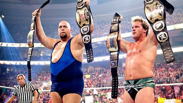 Big Show and Chris Jericho