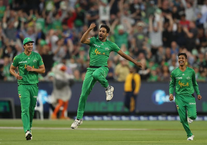 Haris Rauf scalped 20 wickets for the Melbourne Stars in the previous season