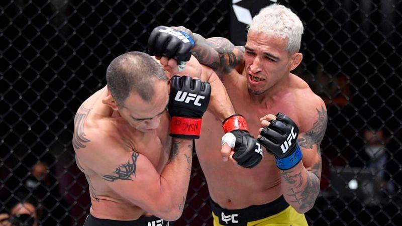 UFC 256 Tony Ferguson vs Charles Oliveira