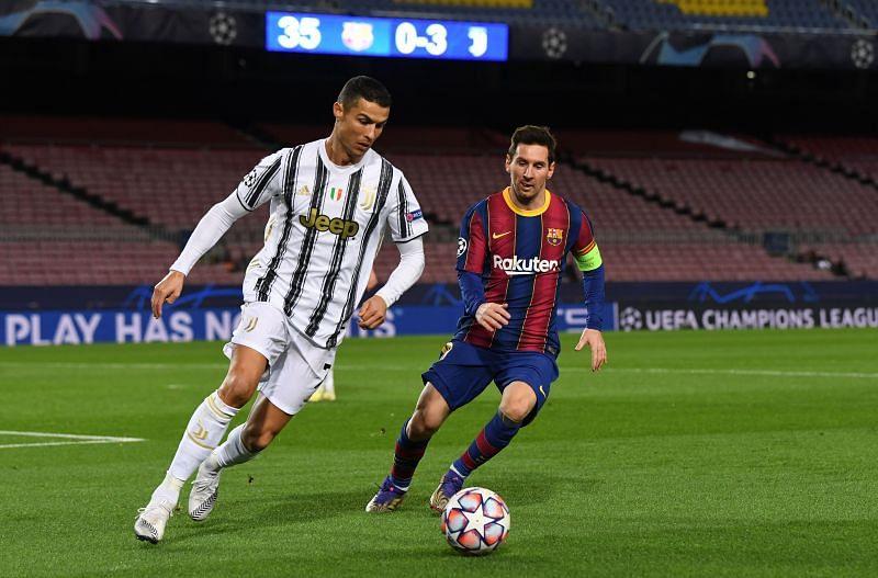 Cristiano Ronaldo and Leo Messi