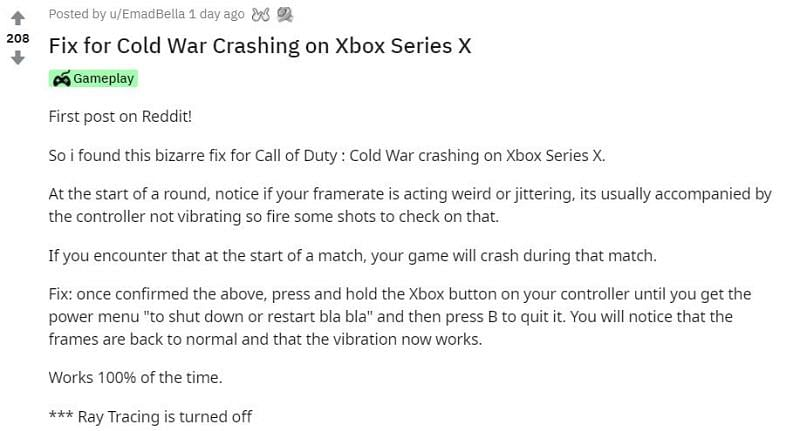 Image via Reddit (r/XboxSeriesX)