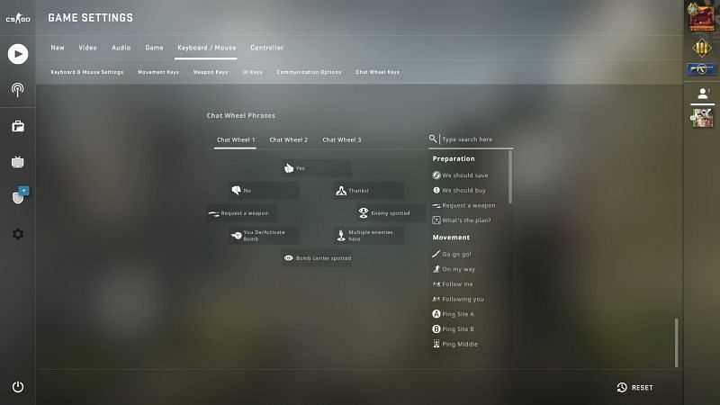 Cs go disable chat command