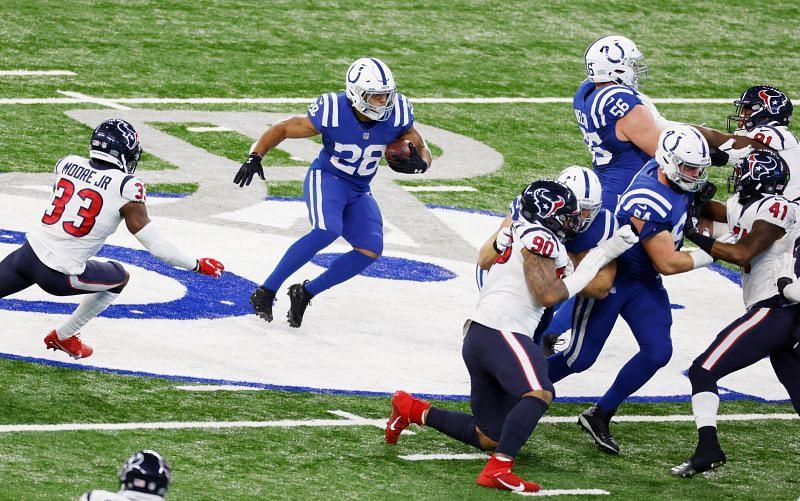 Indianapolis Colts RB Jonathan Taylor