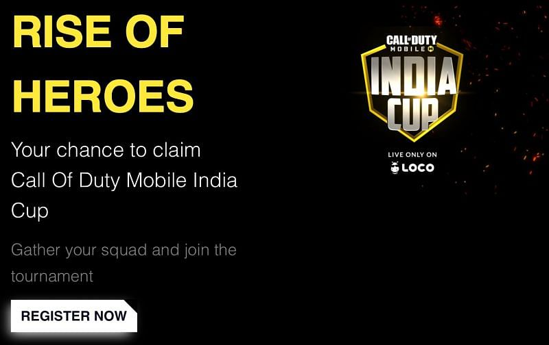The Call of Duty Mobile India Cup
