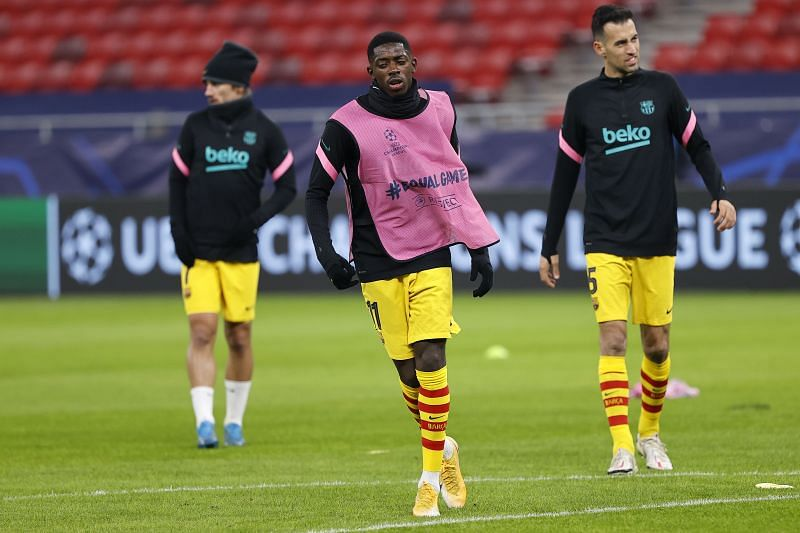 Ousmane Dembele has suffered from injuries this season