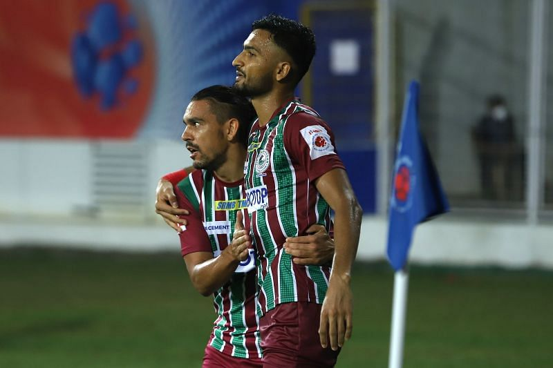 Manvir Singh and David Williams were the standout players for ATK Mohun Bagan against Bengaluru FC (Image Courtesy: ISL Media)