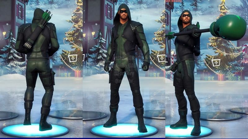 How To Get 500 V Bucks Free In Fortnite If You Bought The Green Arrow Outfit Early Preview 3d models, audio and showcases for how to get the green arrow outfit? how to get 500 v bucks free in fortnite
