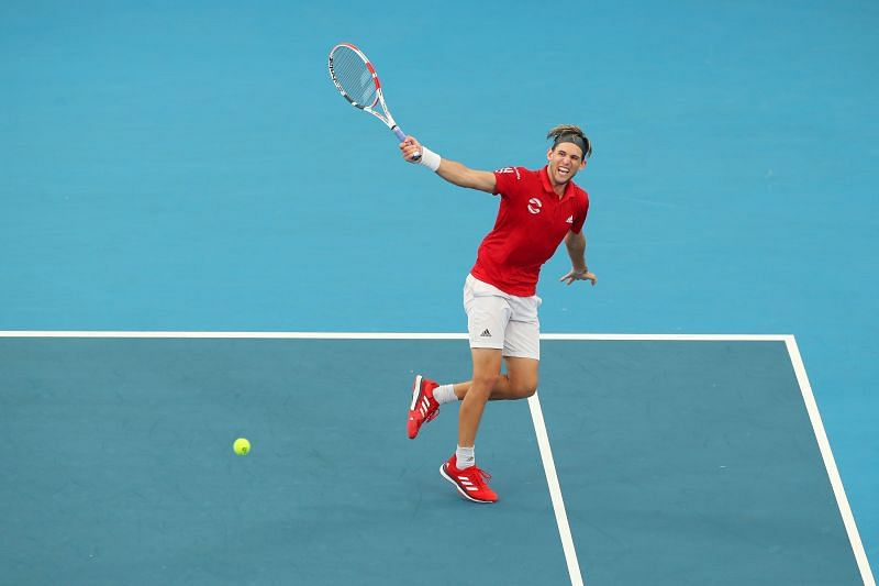 Dominic Thiem at the 2020 ATP Cup