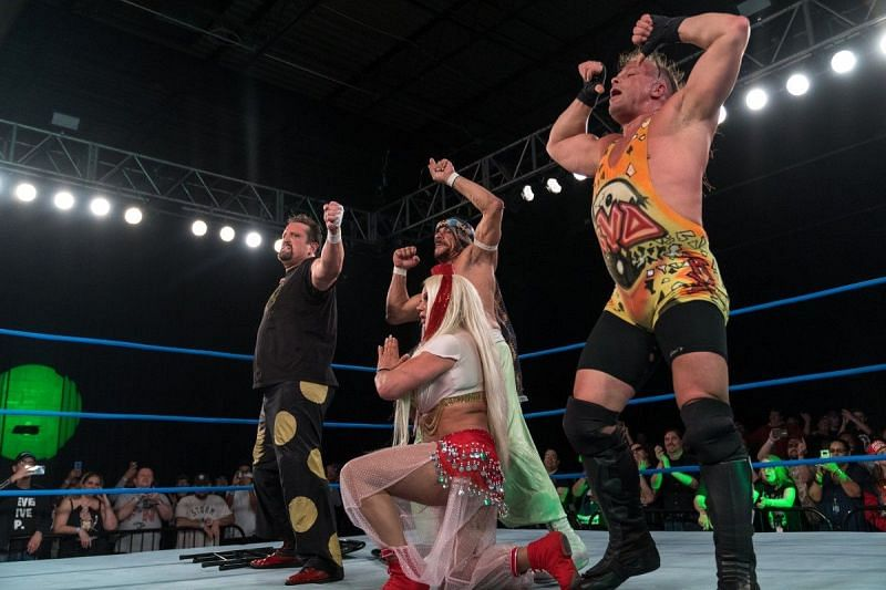 Rob Van Dam, Sabu and Tommy Dreamer in IMPACT Wrestling