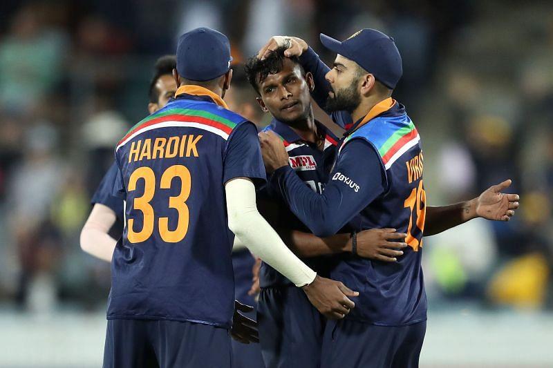 T Natarajan started his IPL career with Kings XI Punjab