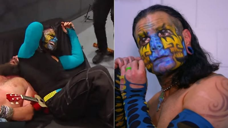 Jeff Hardy picked up the win over Elias