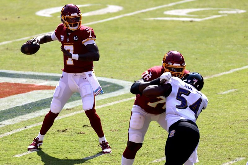 Washington Football Team quarterback Dwayne Haskins Jr.