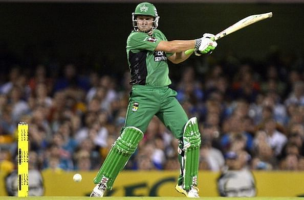 Luke Wright is one of five players to have scored two BBL hundreds. Enter caption