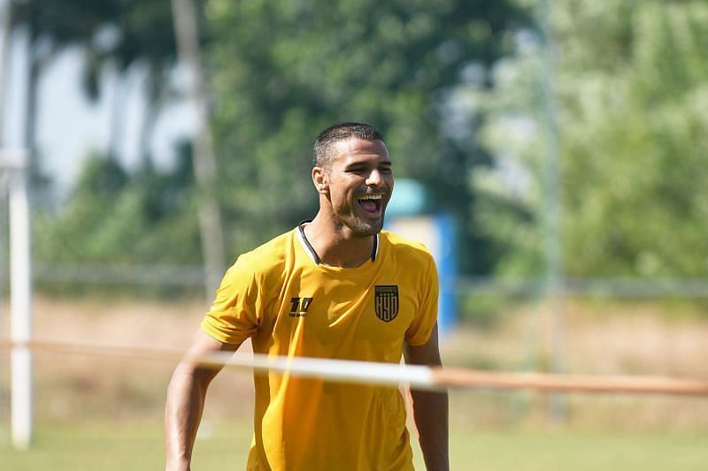 Aridane Santana will be crucial for the Hyderabad FC attack (Image - Hyderabad FC Twitter)